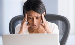 woman stressed out