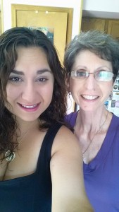 Liz and Mom June 2015